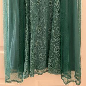 torrid Dresses - NWT TORRID lace dress in sea foam green